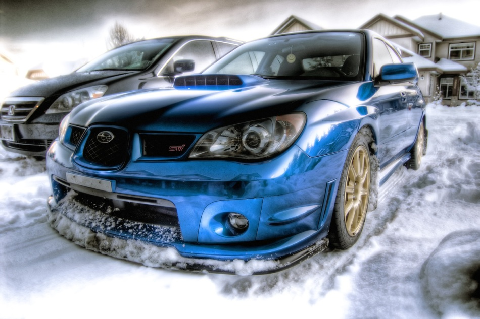 Subie's in the snow!!! Sickness-in-the-snow